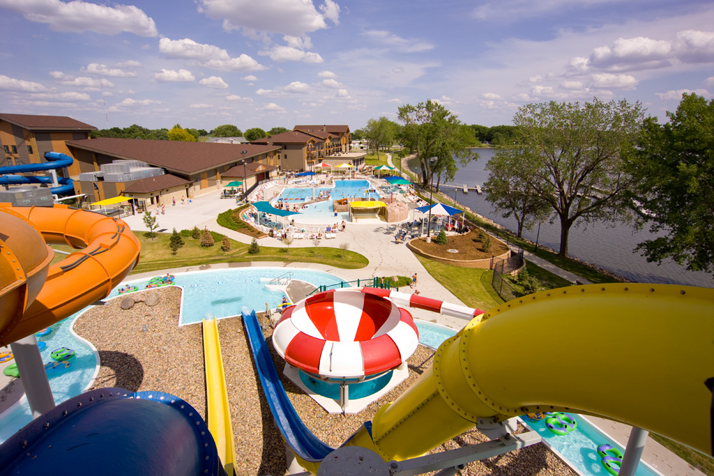 Outdoor Waterpark at King's Pointe Resort