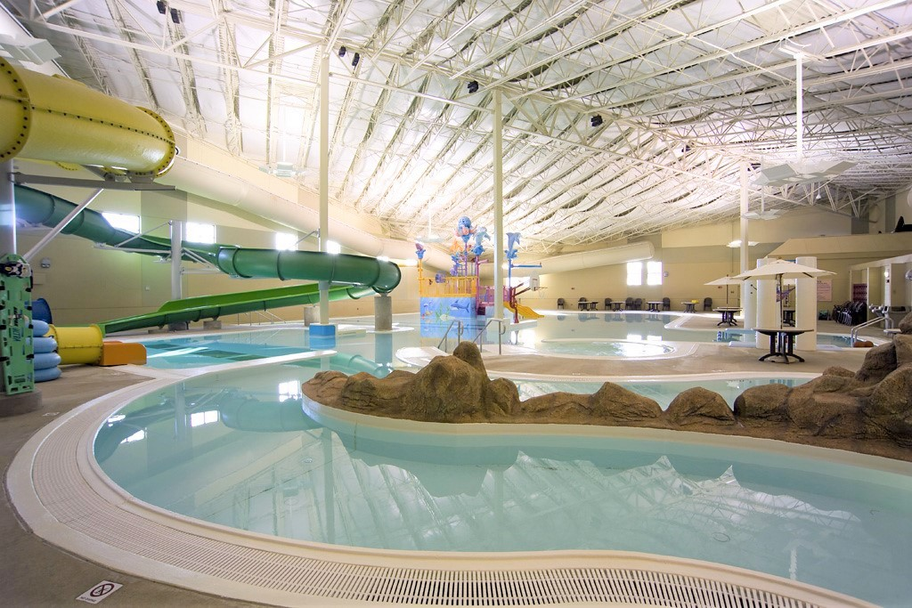 Indoor Waterpark at King's Pointe Resort