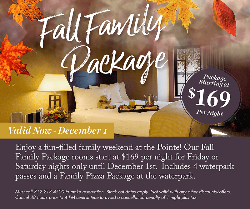 Fall Family Package - King's Pointe Resort